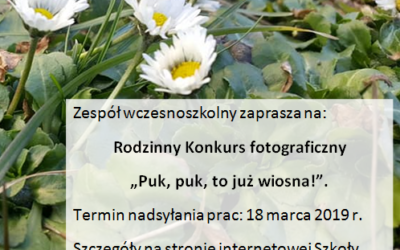 RODZINNY FOTO KONKURS