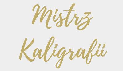 KONKURS KALIGRAFICZNY KLAS 1-3